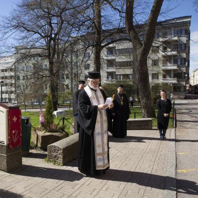 Ortodoksisen kirkon ristisaatto.