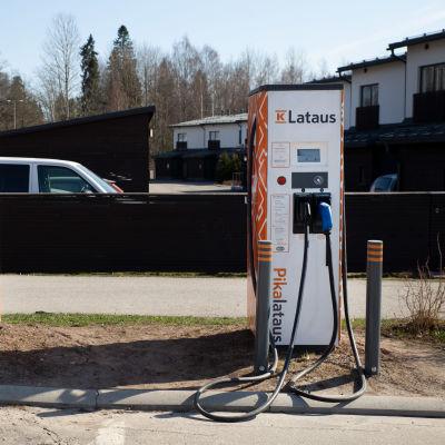 K-Lataus piste Espoossa