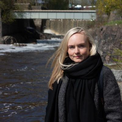 Maria Ohisalo Vanhankaupunginkoskella