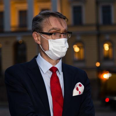 Justitiekansler Tuomas Pöysti.