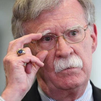 Yhdysvaltain entinen kansallisen turvallisuuden neuvonantaja John Bolton.