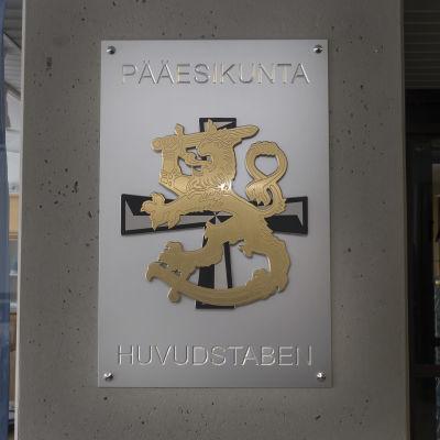 Pääesikunta Helsingissä.