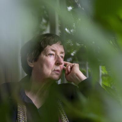 Kirjailija Leena Krohn 30.8.2018