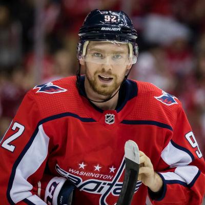 Jevgenij Kuznetsov spelar för Washington Capitals.