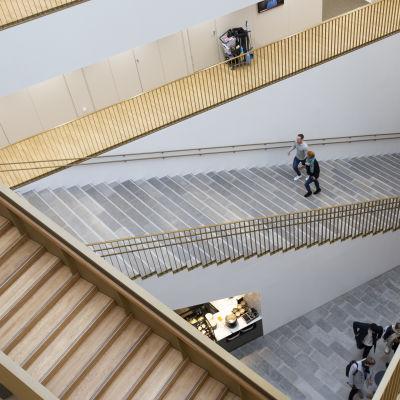 interiörbild från Aalto Universitetet.