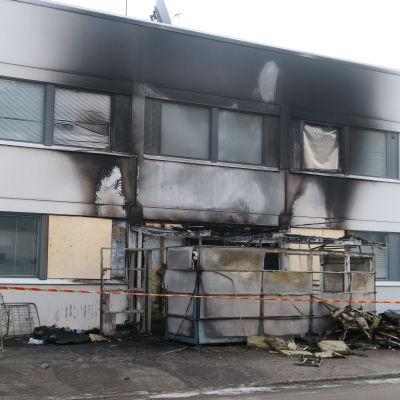 Tulipalossa vaurioitunut Kaurialan koulu