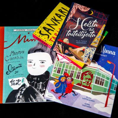 Minna Canth kuvakirjat, kansikuvat, kirjoja