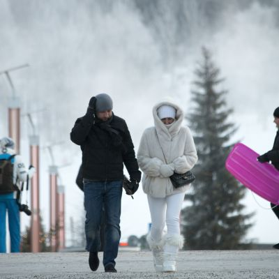 Pakkanen, Rovaniemi, talvi, koskikatu