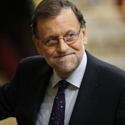 Espanjan väliaikainen pääministeri Mariano Rajoy