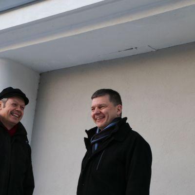 Timo Kaunisto ja Teuvo Suominen