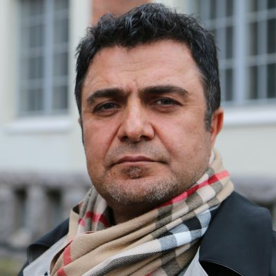 Turkkilainen mies.