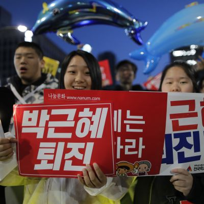 Mielenosoitus Soulissa