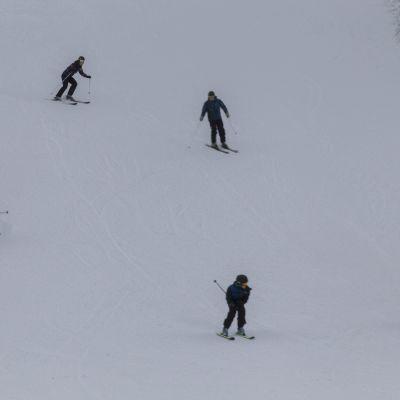 laskettelua vihti ski