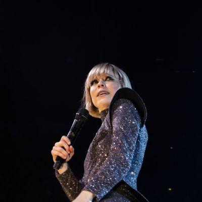 Paula Vesala konsertissa Hartwall-Areenalla 25.10.2019.