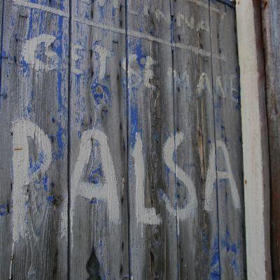 Kalervo Palsan Getsemane-ateljeen ovi