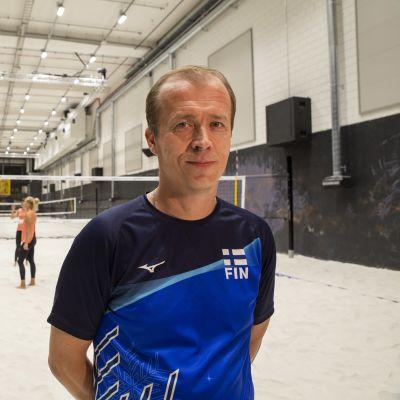 beach volley valmentaja kai liukkonen