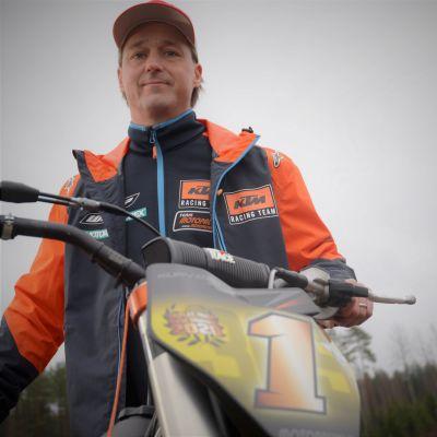 Flat trackin maailmanmestari Lasse Kurvinen