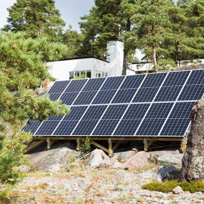 aurinkoenergiaa porvoon saaristo