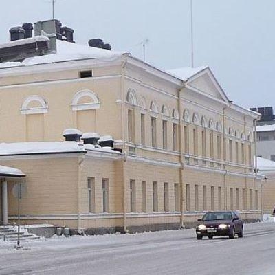 Aluehallintoviraston rakennus Maaherrankadulla.