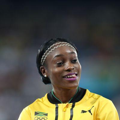 Elaine Thompson, OS 2016.