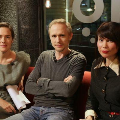 Jessica Grabowsky, Sampo Sarkola och Hannele Mikaela Taivassalo