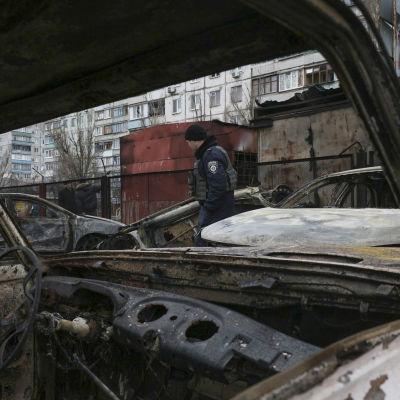 Mariupol efter attack