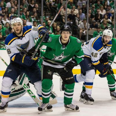 Dallas Stars mot St. Louis Blues i NHL-slutspelet 2016.