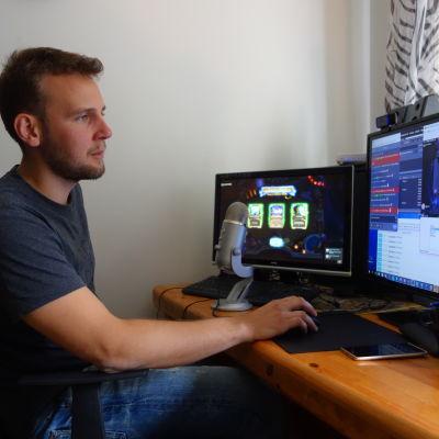 Andreas är streamare på Twitch.