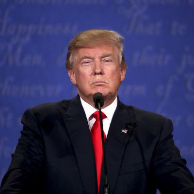Tredje och sista tv-debatten Clinton-Trump.