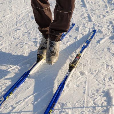 Talviurheilu Paloheinän ulkoilukeskus