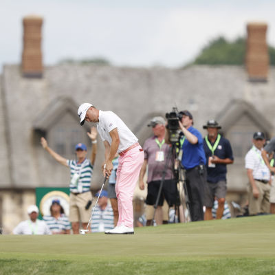 Justin Thomas lyckades med det mesta under tredje dagen av US Open.