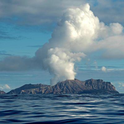 Vulkanutbrott på White Island, Nya Zeeland 9.12.2019