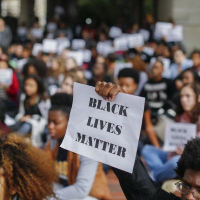 Protest mot polisskjutning och att polisen inte ställdes inför rätta i Atlanta, Georgia 4.12.2014