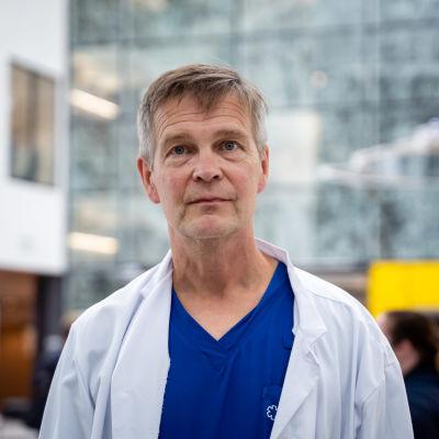 Taysin infektiolääkäri Janne Laine.