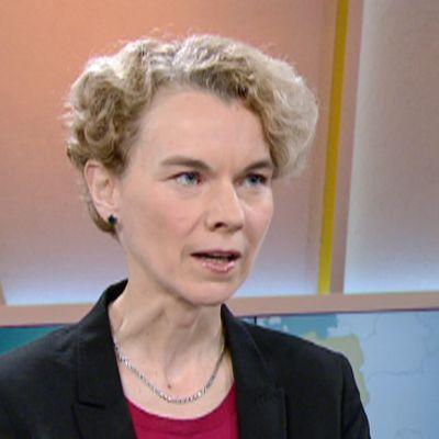 Tutkija Kristi Raik Ulkopoliittisesta instituutista