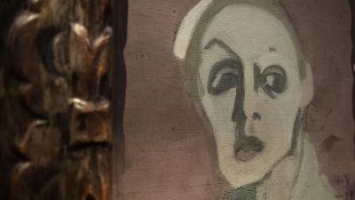 Helene Schjerfbeckin näyttely Ateneumin taidemuseossa.