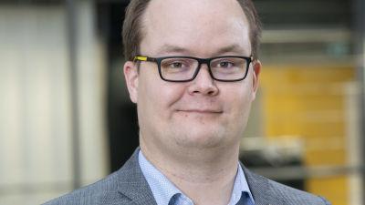 Porträtt på Antti Rantakaulio