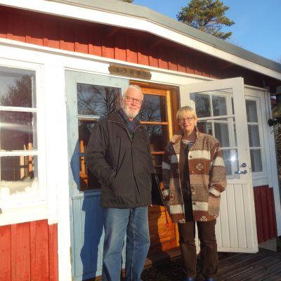 Henrik Helander och Åsa Westerlund