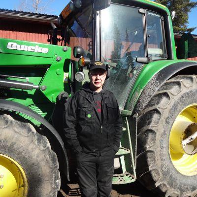 Jordbrukare Christian Nyholm