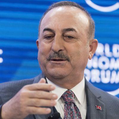 Mevlüt Çavuşoğlu, Turkiets utrikesminister.