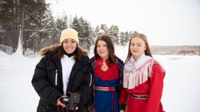 Oriwa Hakaraia, Venla Portti ja Iia Keskitalo