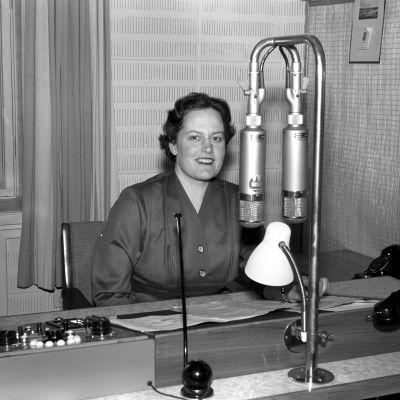 Maija Rankama vuonna 1956.