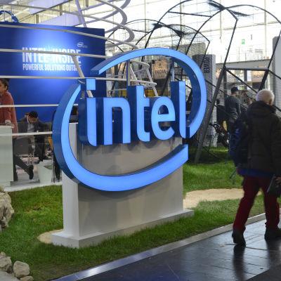 Bild från IT-mässa i Tyskland.