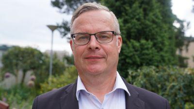 Diagnostikchef Lasse Lehtonen vid Helsingfors och Nylands sjukvårdsdistrikt
