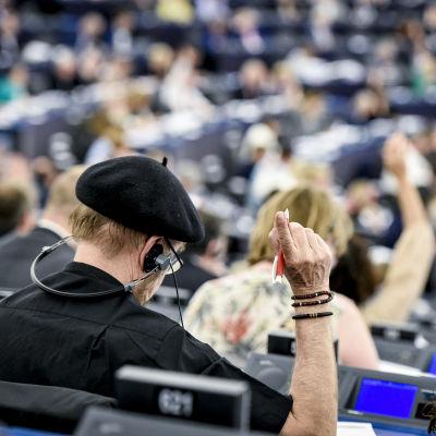 Omröstning vid Europaparlamentet