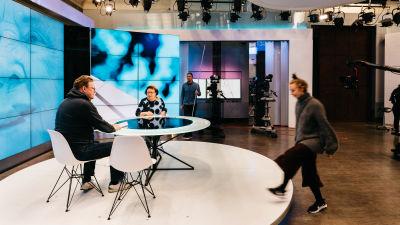 Yleläisiä studiotiloissa