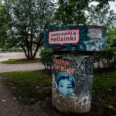 Pengerpuisto Helsingin Kalliossa.