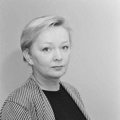 Kirjailija Raija Oranen, jolle myönnettiin Sokeain kuunnelmapalkinto 1986.