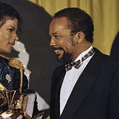 Michael Jackson och Quincy Jones