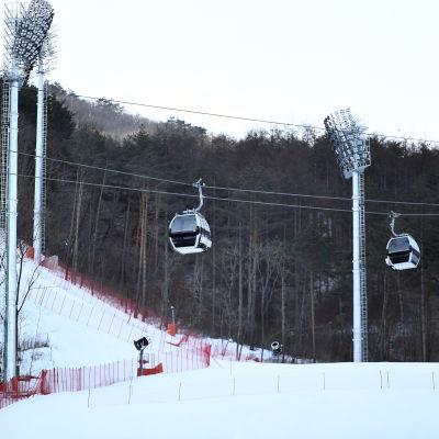 Jeongseon Alpine Centre i Pyeongchang